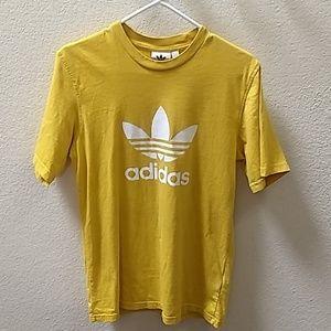 Adidas Unisex Vintage Logo T-shirt Size small